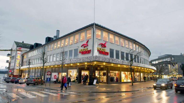 Kjøpesenter i Molde sentrum